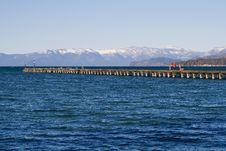 Free Pier At The Lake Royalty Free Stock Image - 4386456