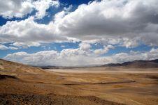 Free Splendorous Ali Road In Tibet2 Stock Photo - 4386800