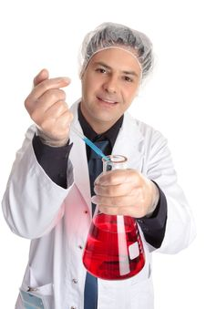 Free Pharmacist, Chemist, Scientist Royalty Free Stock Image - 4387526