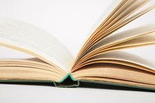 Opening Book Royalty Free Stock Image