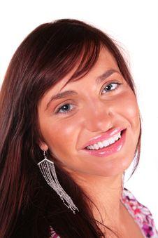 Free Portrait Of Beauty Woman Stock Image - 4387971
