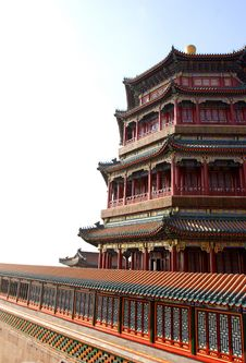 Free Chinese Buildings Royalty Free Stock Images - 4388309
