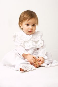 Free Cute Little Girl Royalty Free Stock Photography - 4388477