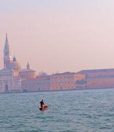 Free Gondolier In Venice Stock Photo - 4388700