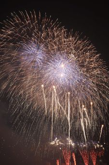 Free Fire Works Stock Image - 4388851