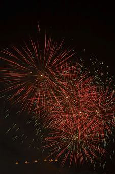 Free Fire Works Royalty Free Stock Images - 4388859