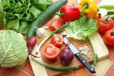 Free Fresh Vegetables Royalty Free Stock Photos - 4389058