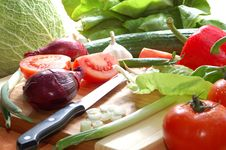 Free Fresh Vegetables Stock Photography - 4389062