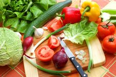 Free Fresh Vegetables Stock Photos - 4389063