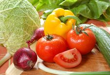 Free Fresh Vegetables Stock Photography - 4389112