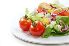 Free Salad Royalty Free Stock Photos - 4389138