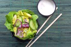 Free Salad Royalty Free Stock Image - 4389156