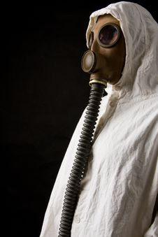 Free Person In Gas Mask Stock Photos - 4389793