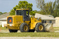 Free A Front End Loader Sits Idle Stock Photo - 4395240
