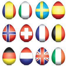 Free European Easter Eggs Stock Images - 4390064