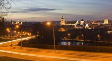 Free Vilnius Town-scape Stock Images - 4390444