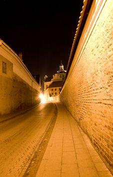 Free Vilnius Old Town Stock Image - 4390521