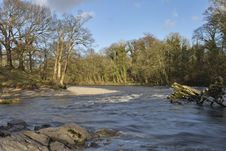 Free River Lune At Kirkby Lonsdale Stock Photos - 4390783
