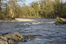 Free River Lune At Kirkby Lonsdale Stock Image - 4390791