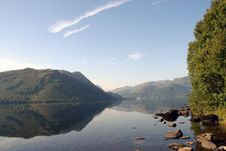 Free Ullswater Reflection Royalty Free Stock Image - 4392196