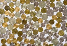 Free Coins Royalty Free Stock Photos - 4392458
