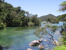 Free Abel Tasman S Greens And Blues Stock Images - 4392474