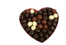 Free Heart And Chocolate Royalty Free Stock Photography - 4392607