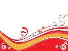 Free Floral Grunge Background, Vector Illustration Stock Photo - 4393010