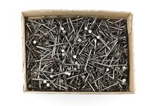 Free Box Of Nails Stock Photos - 4393163