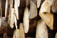 Free Wood Piles Royalty Free Stock Image - 4393376