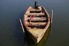 Free Old Wooden Boat Stock Image - 4393931