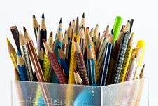 Free Coloured Pencils Stock Images - 4393964