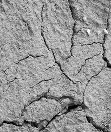 Cracked Soil Royalty Free Stock Images