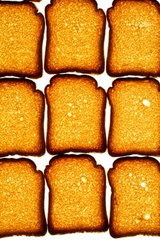 Free Golden Rusk Royalty Free Stock Photo - 4395085