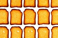 Free Golden Rusk Royalty Free Stock Images - 4395099