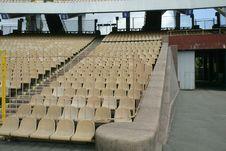 Free Stadium Seats Royalty Free Stock Photo - 4395285