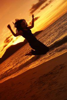 Free Celebration - Sunset Royalty Free Stock Photos - 4396038