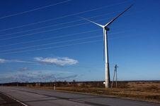 Free Windmill Stock Photography - 4396252