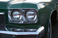 Free Vintage Car Headlights Stock Image - 4396571