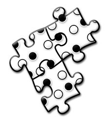 Free Company Logo - Puzzle 4 Royalty Free Stock Photo - 4397025