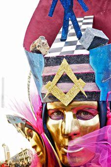 Free Masson Mask. Royalty Free Stock Images - 4397049