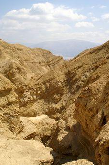 Free Arava Desert - Dead Landscape, Stone And Sand Stock Photos - 4397063