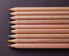 Free Coloured Crayons Royalty Free Stock Photography - 4397067
