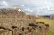 Free Inca Castle Ruins In Chinchero Royalty Free Stock Photo - 4397075