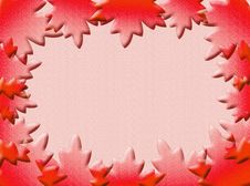 Free Leaves Frame Royalty Free Stock Images - 4397249