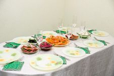Free Festive  Table Stock Images - 4397454