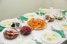 Free Festive  Table Stock Images - 4397524