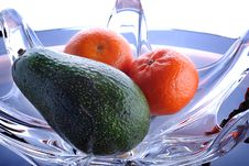 Free Avocado And Mandarine Royalty Free Stock Photos - 4397648