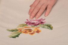 Free Embroidery Royalty Free Stock Images - 4398439