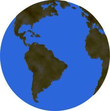 Free Worldmap Royalty Free Stock Photo - 4398725